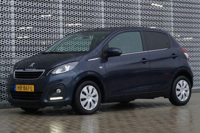 Private Lease nu als outlet aanbieding extra voordelig deze Peugeot 108 1.0evti active AIRCO + BLUETOOTH (HB-861-L) van IKRIJ.nl vanaf €169 per maand
