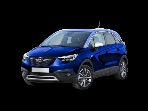 Bekijk deze Opel Crossland X 1.2t edition 110PK van IKRIJ.nl met Private Lease prijs vanaf € 389 per maand