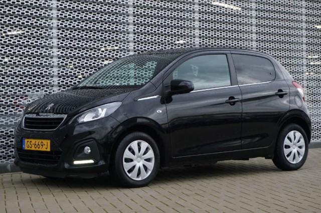 Private Lease nu als outlet aanbieding extra voordelig deze Peugeot 108 1.0evti active AIRCO + BLUETOOTH (GS-669-J) van IKRIJ.nl vanaf €169 per maand
