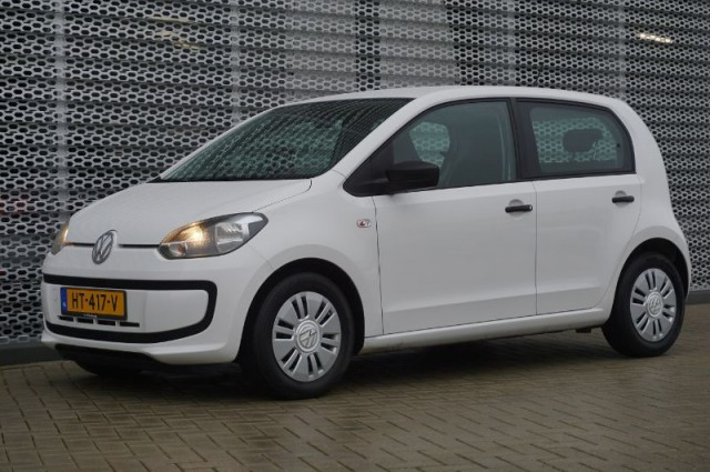Private Lease nu als outlet aanbieding extra voordelig deze Volkswagen up! 1.0 take up AIRCO 50kW (HT-417-V) van IKRIJ.nl vanaf €169 per maand