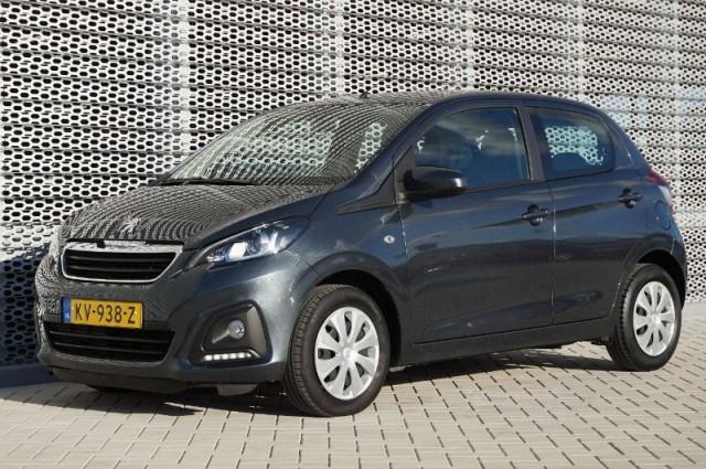 Private Lease nu als outlet aanbieding extra voordelig deze Peugeot 108 1.0vti active etg5 automaat AIRCO + BLUETOOTH (KV-938-Z) van IKRIJ.nl vanaf €209 per maand