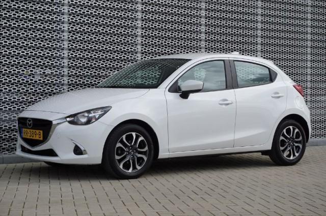 Private Lease nu als outlet aanbieding extra voordelig deze Mazda 2 1.5 skyactiv-g dynamic 66kW (RR-389-B) van IKRIJ.nl vanaf €279 per maand
