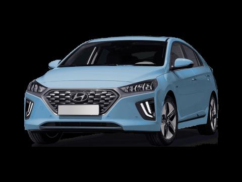 Bekijk deze Hyundai IONIQ 38.3kWh EV electric premium 100kW aut van IKRIJ.nl met Private Lease prijs vanaf € 589 per maand