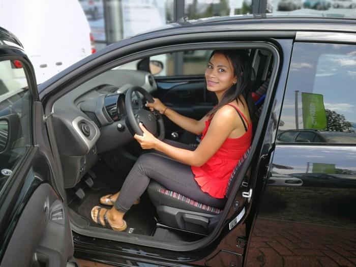 Tevreden private lease klant van IKRIJ.nl   Veel plezier met jouw Citroën C1!