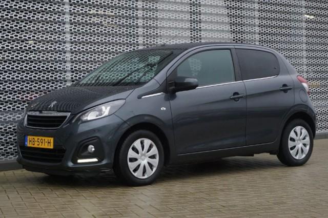 Private Lease nu als outlet aanbieding extra voordelig deze Peugeot 108 1.0evti active AIRCO + BLUETOOTH (HB-591-H) van IKRIJ.nl vanaf €169 per maand