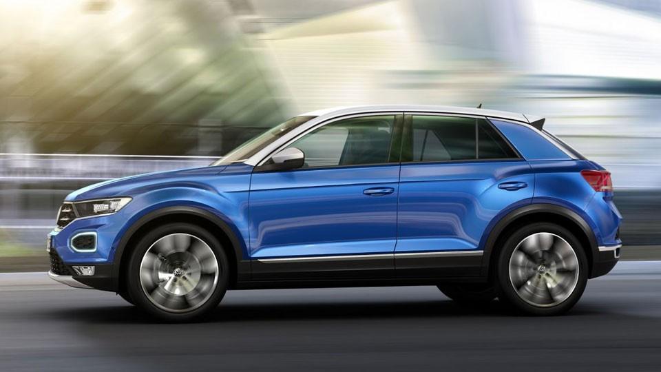 Volkswagen private lease en de T-Roc van IKRIJ.nl in Den Haag