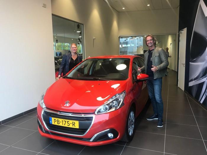 Tevreden private lease klant van IKRIJ.nl   Oranje boven!