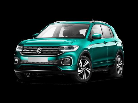 Bekijk deze Volkswagen T-Cross van IKRIJ.nl met Private Lease prijs vanaf € 419 per maand