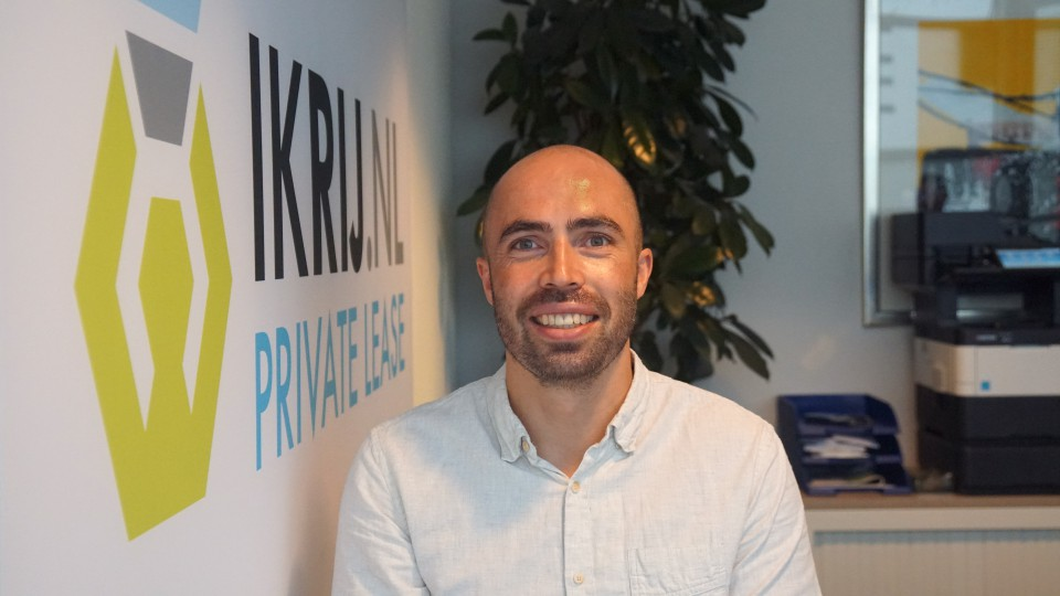 Thomas Tuinstra van IKRIJ.NL staat voor u klaar in Amersfoort