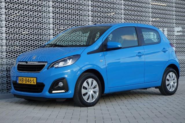 Private Lease nu als outlet aanbieding extra voordelig deze Peugeot 108 1.0evti active AIRCO + BLUETOOTH (HB-846-L) van IKRIJ.nl vanaf €169 per maand