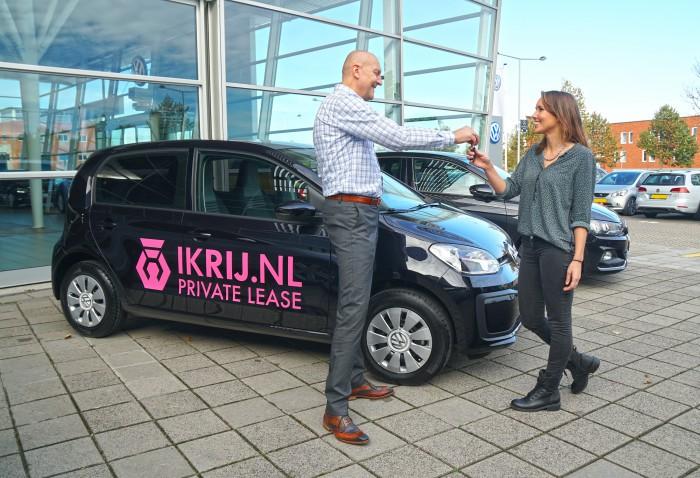 Tevreden private lease klant van IKRIJ.nl   IKRIJROZE.NL Private Lease