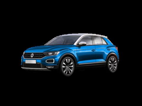 Bekijk deze Volkswagen T-Roc 1.0tsi style 85kW van IKRIJ.nl vanaf € 479 per maand
