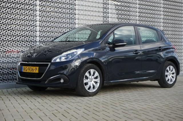 Private Lease nu als outlet aanbieding extra voordelig deze Peugeot 208 1.2 puretech blue lion 82PK (RG-936-P) van IKRIJ.nl vanaf €219 per maand