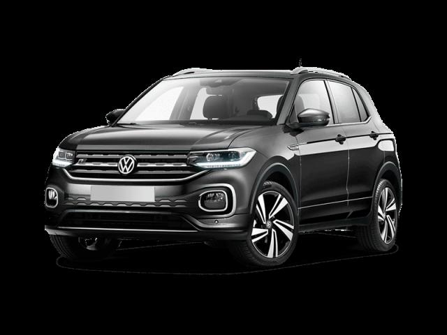IKRIJ.nl in Den Haag biedt deze Volkswagen T-Cross aan op basis van Private Lease